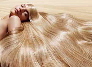 Блеск здоровых волос
